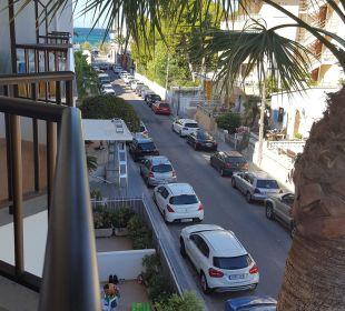 Ausblick vom Balkon JS Hotel Yate