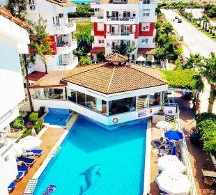 Pool Blok B Irem Garden Hotel Family Club
