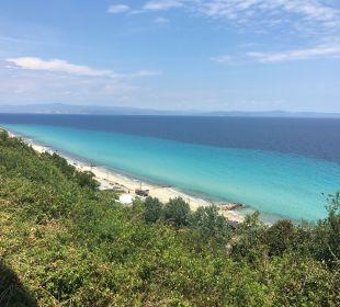 Ausblick Blue Bay Halkidiki