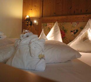 """Das """"Erwachsenen-Bett"""" Leading Family Hotel & Resort Alpenrose"""