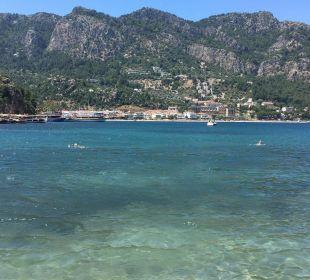 Ausblick vom Strand auf Turunc Hotel Turunc