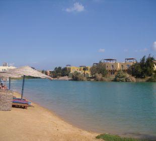 Blick auf die Lagune Arena Inn Hotel, El Gouna