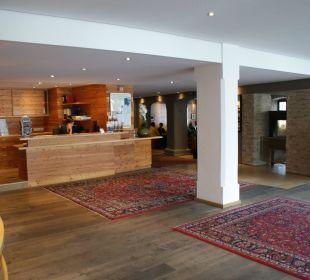 Rezeption Hotel Bon Alpina