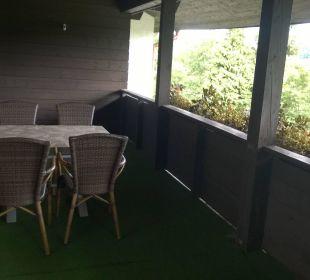 Balkon Komfortzimmer Pension Haus Hochstein