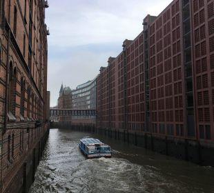 Hotel vom Fleet aus AMERON Hotel Speicherstadt Hamburg