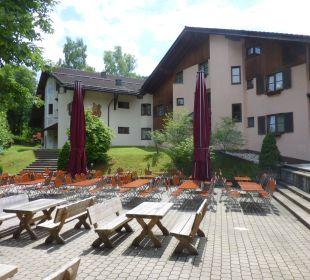 Biergarten Dorint Sporthotel Garmisch-Partenkirchen