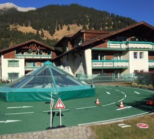 Fahrrad / Laufrad / Bobbycar Parcour Leading Family Hotel & Resort Alpenrose