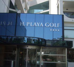 Hotelschild Hotel Playa Golf