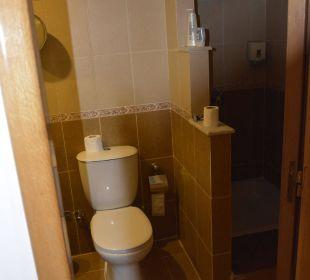 Die Toilette/Dusche