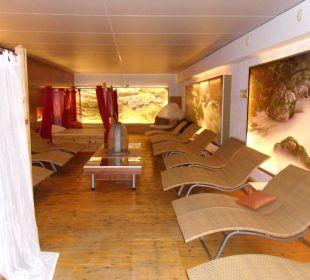 Liegeraum im Emotion Spa Hotel Winzer Wellness & Kuscheln