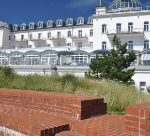 Außenappartements des Hotels_Ansicht von hinten Strandhotel Kurhaus Juist