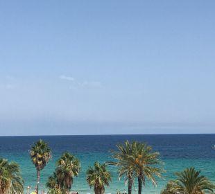 Blick vom Zimmer (seitlicher Meerblick) SENTIDO Playa del Moro