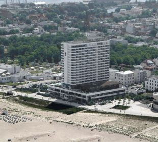 Luftaufnahme  Hotel Neptun