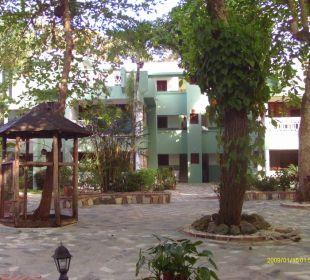 Gartenanlage Hotel Tropical Clubs Cabarete