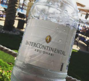 Wasser im Garten Hotel Intercontinental Abu Dhabi