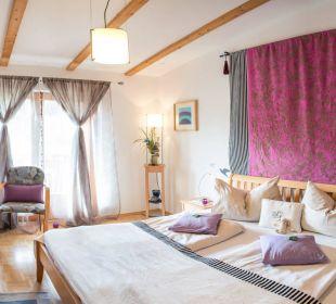 Doppel Zimmer A'Blaus mit Balkon Landhaus FühlDichWohl