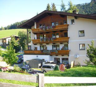 Sicht auf die Rückseite des Hotels Hotel Klausenhof