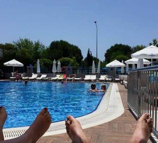 Mit kleinem Babybecken Hotel Grand Zaman Beach