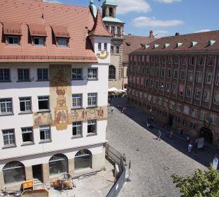 Ausblick SORAT Hotel Saxx Nürnberg