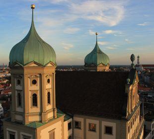 Ausblick City Hotel Ost am Kö Augsburg