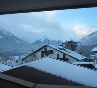 Blick aus unserem Zimmer Sporthotel Brugger