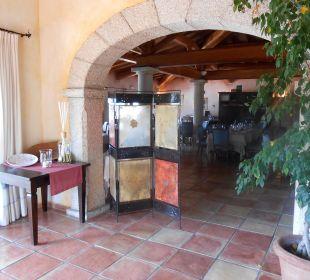 Eingang zum Restaurant Hotel Parco Degli Ulivi