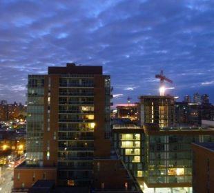 Ausblick aus dem 15. Stock Hotel Holiday Inn Express Toronto Downtown