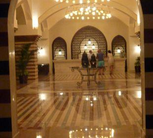 In der Lobby Hotel Iberotel Makadi Beach