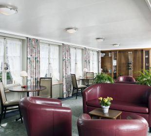 Lesezimmer im 1. Stock Hotel Appenzellerhof
