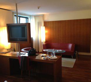 Wohnraum Juniorsuite Hotel The Penz