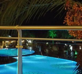 Blick von der Restaurant Terasse Kirman Leodikya Resort