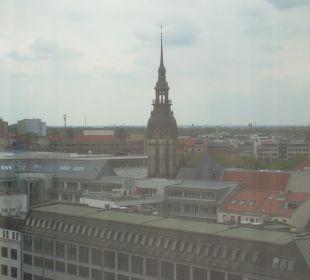 Ausblick Hotel The Westin Leipzig