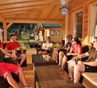 Terrasse Feelfree Adventure Camp feel free Adventure Camp