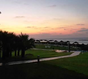 Sonnenaufgang Blick von der Terasse Club Aldiana Zypern