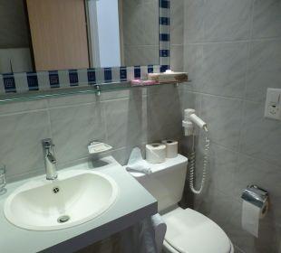 Bad mit Toilette, sehr eng Hotel Panorama Valbella (geschlossen)