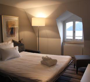 Maisonette Schlafzimmer See Hotel Vitznauerhof