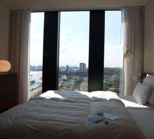 Toller Ausblick Empire Riverside Hotel Hamburg
