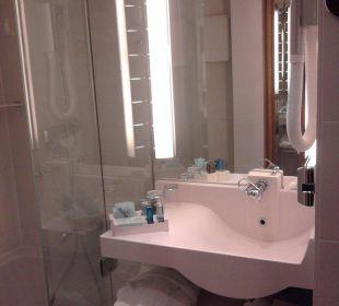 Badezimmer Hotel Novotel Wien City