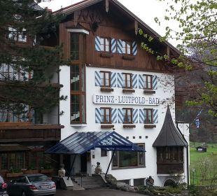 Eingang Hotel Prinz - Luitpold - Bad