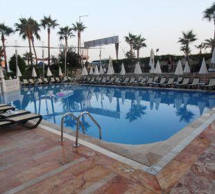 Hlavní bazén Hotel Krizantem