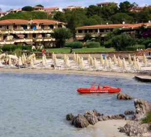 Hoteleigener Starnd Hotel Gabbiano Azzurro
