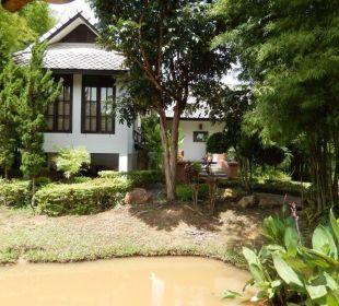 Blick auf Familien Bungalow Hotel Baan Chai Thung