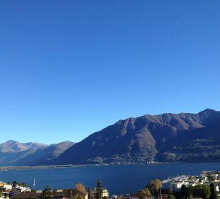 Blick auf den Lago Maggiore Hotel Belvedere Locarno