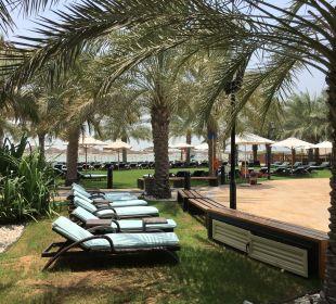 Gartenanlage Hotel Intercontinental Abu Dhabi