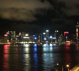 Hongkong bei Nacht InterContinental Hotel Grand Stanford Hong Kong