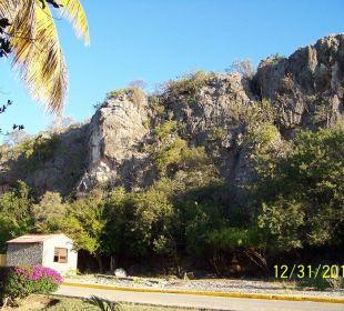Die Landschaft hinterm Hotel Hotel Club Amigo Bucanero (existiert nicht mehr)