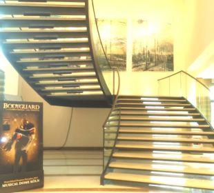 Treppe Hotel Dorint an der Messe Köln