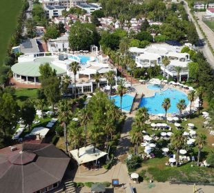 Außenansicht Hotel Club Kastalia