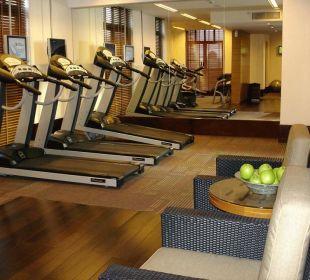 Fitnessraum in der 6.Etage Vida Hotel Downtown Dubai