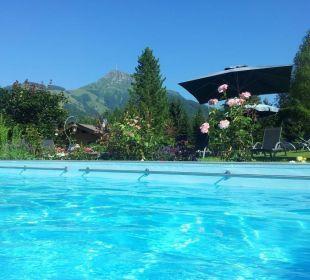 Pool vom Gartenhotel Rosenhof bei Kitzbühel Gartenhotel Rosenhof